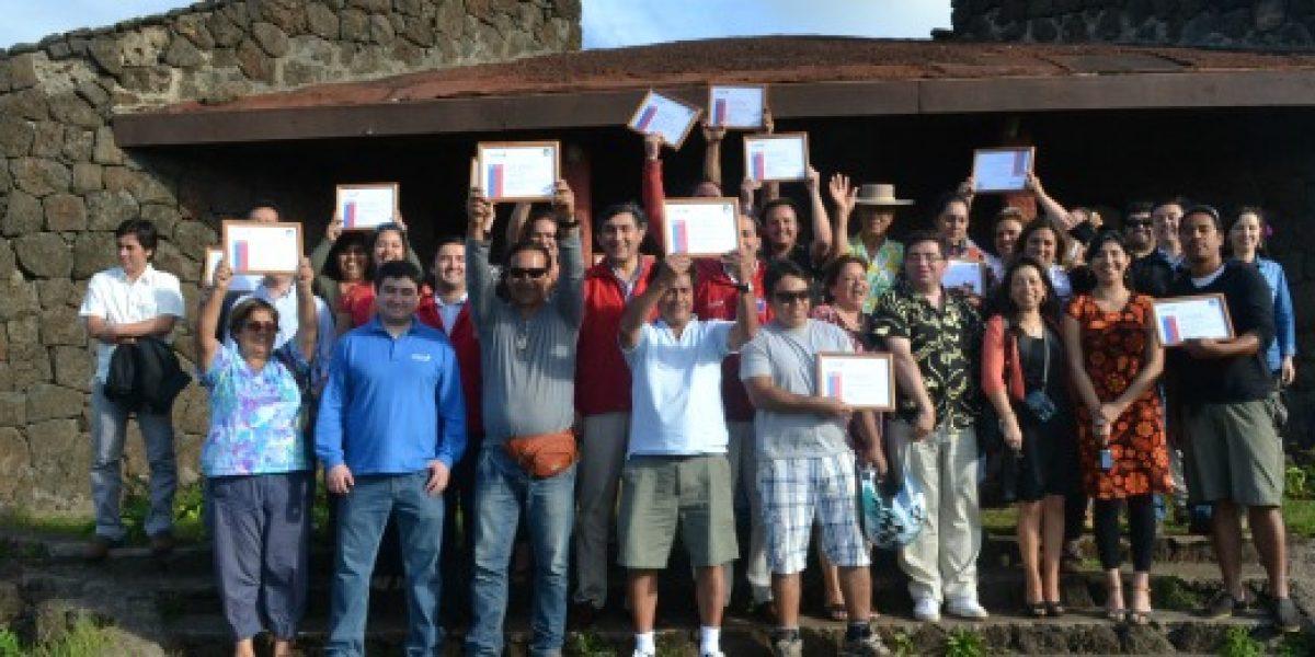 Microempresarios de Rapa Nui recibieron capacitación para mejorar desarrollo de la isla