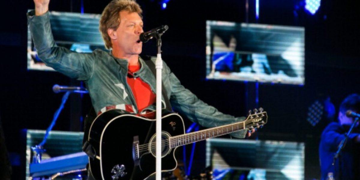 Productora confirma nueva fecha para show de Bon Jovi: 24 de septiembre