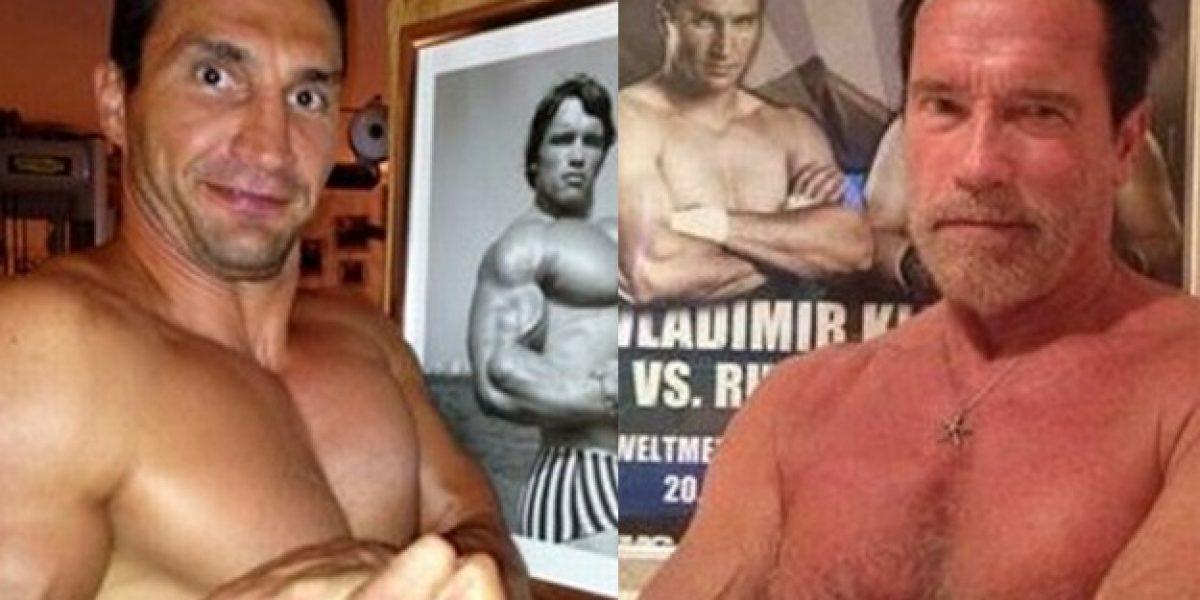 La notable respuesta de Schwarzenegger a boxeador en Twitter