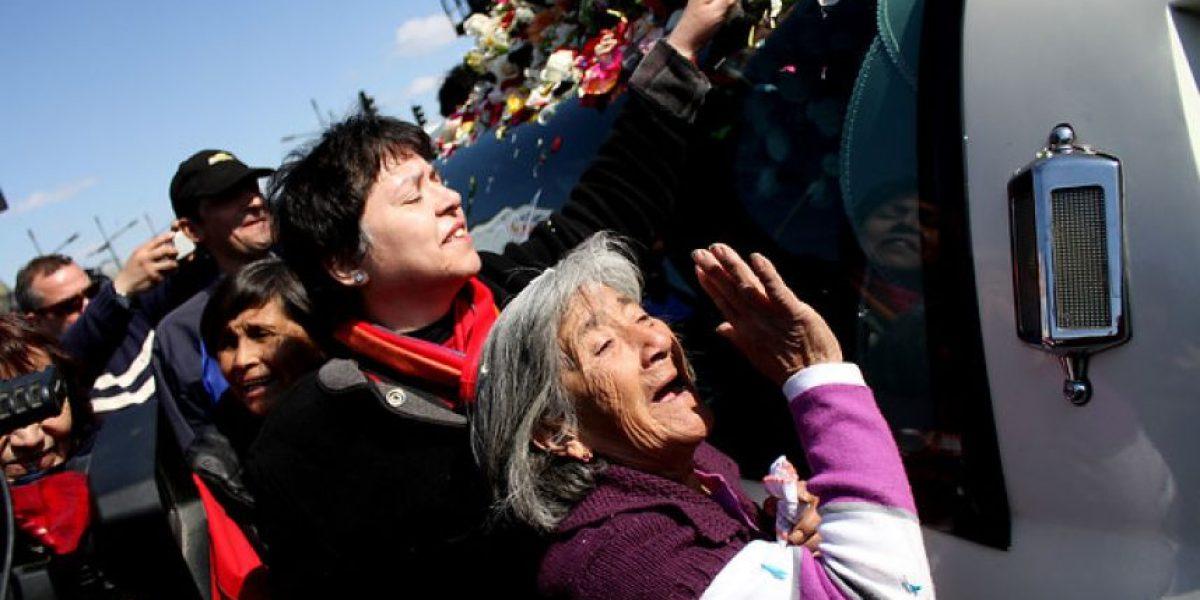 Galería: Los chilenos despiden a Jorge Pedreros