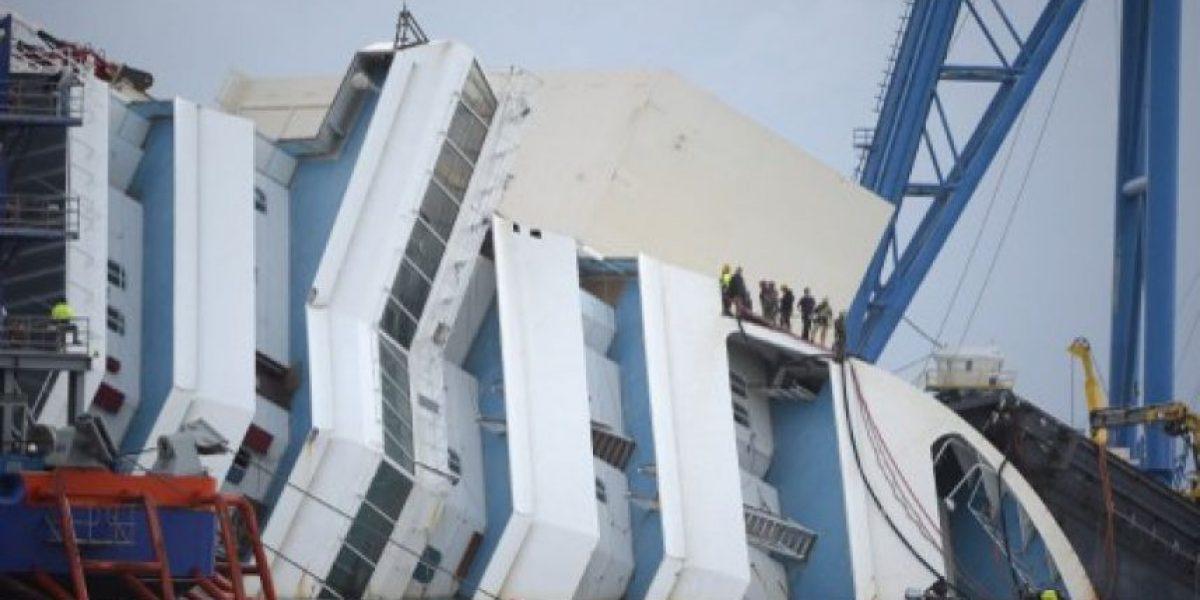 FOTOS: Comienza el operativo para enderezar el Costa Concordia