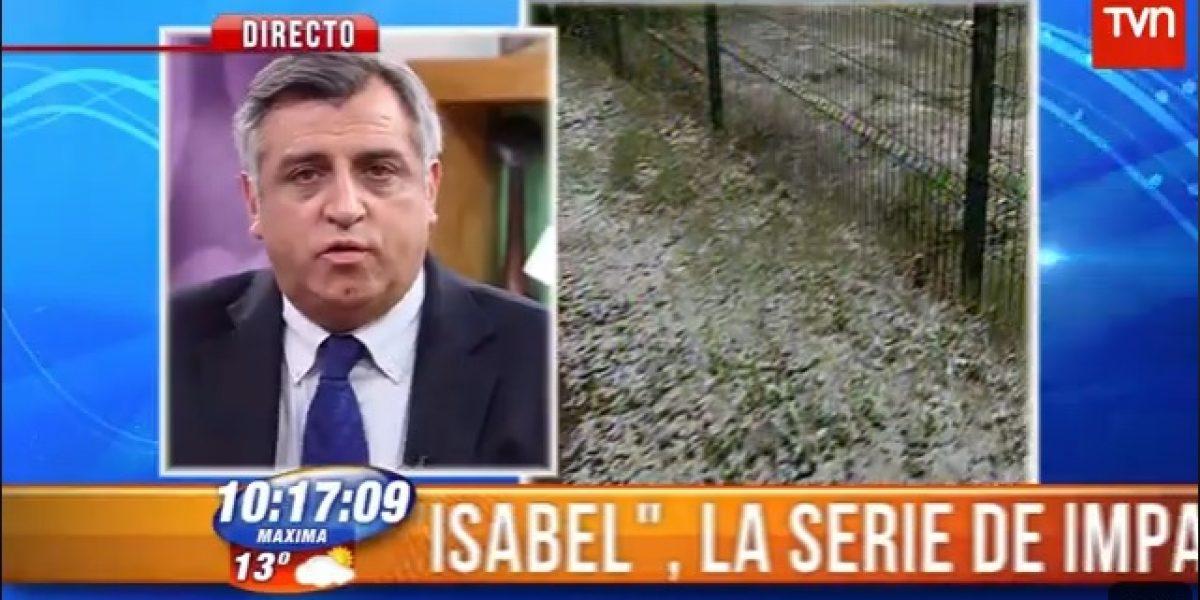 Iván Torres se enoja por cuestionamientos a su reporte