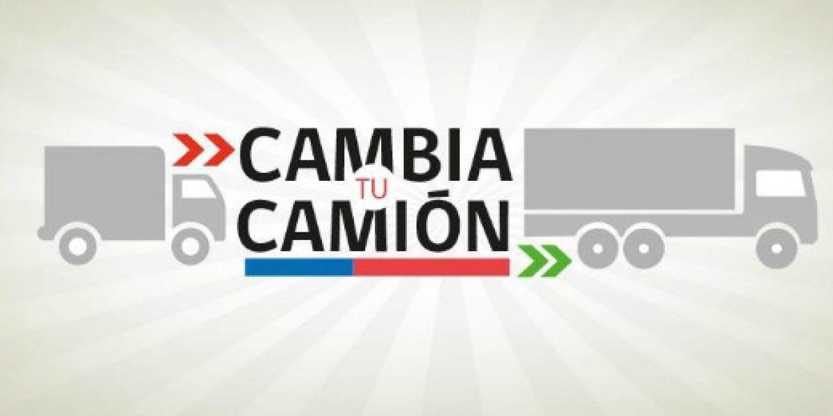 Nuevo programa permitirá renovar camiones a Pymes transportistas