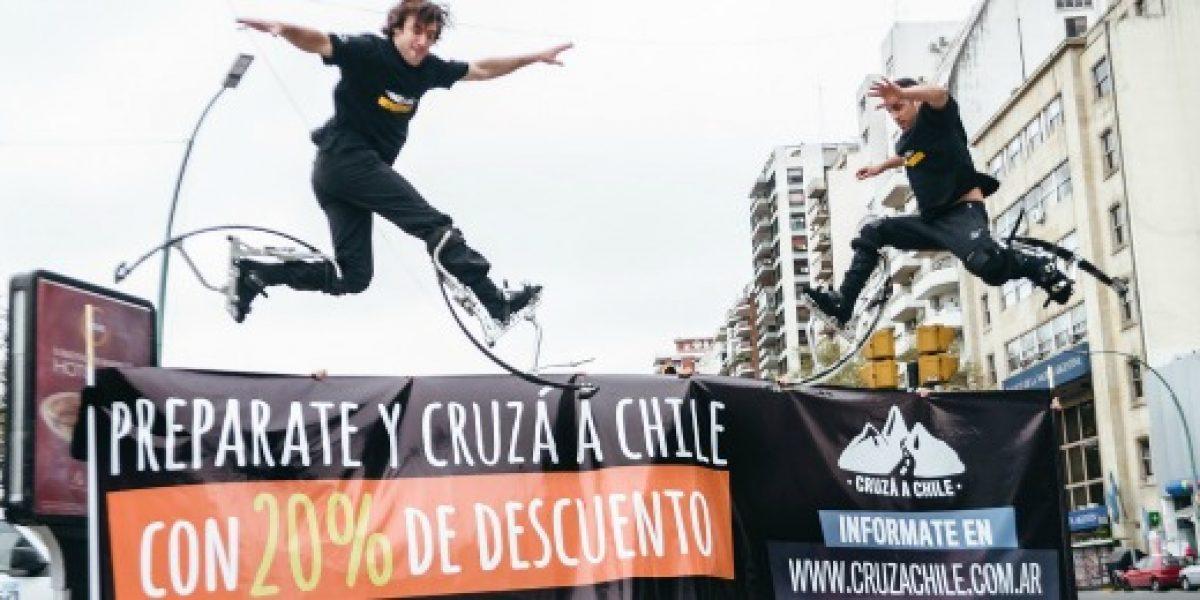 En feria internacional lanzan campaña para atraer turistas argentinos a Chile