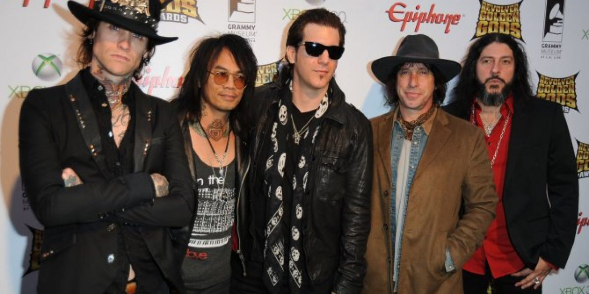 Buckcherry regresa a Chile en octubre
