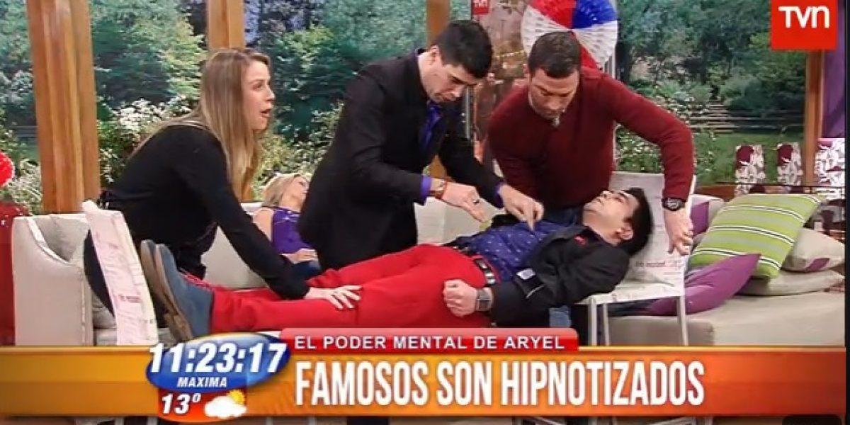 BDAT: Hipnotista hizo levitar a Luis Sandoval