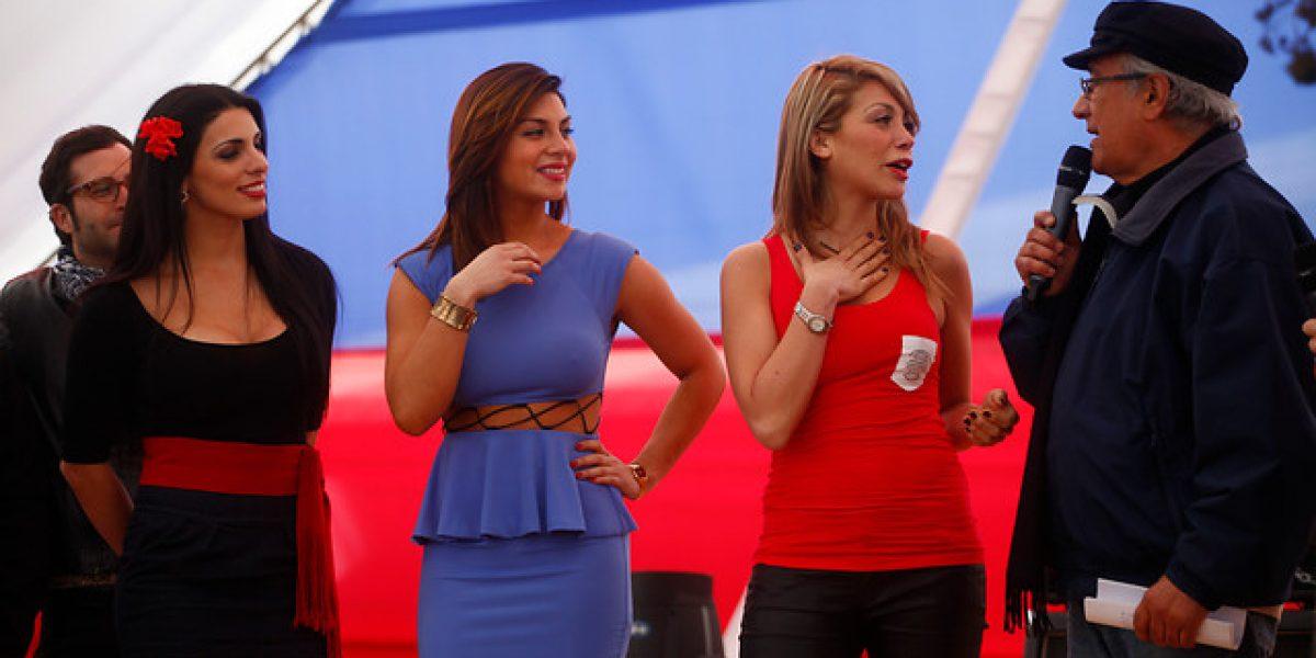 Jocelyn Medina, Kathy Contreras y Yamna Lobos aspiran a ser reina de la Fonda del Rock Chileno