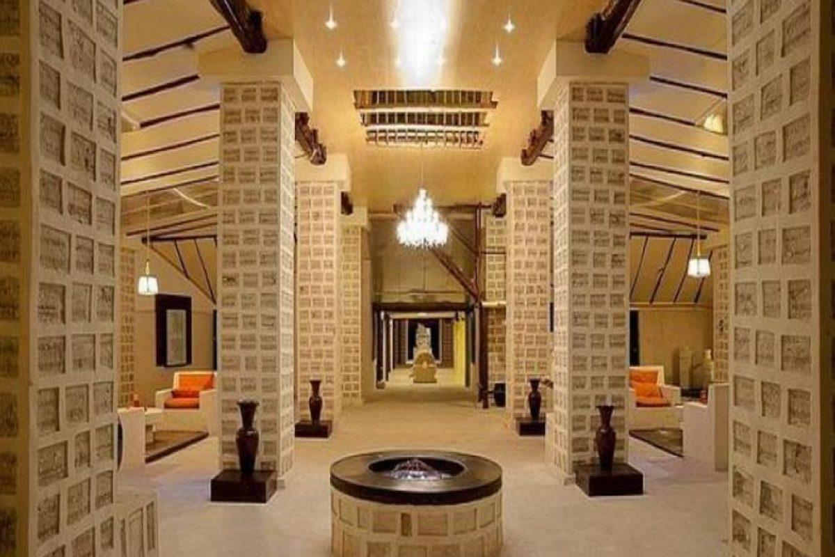 Palacio de Sal en Bolivia. Es el primer hotel construido con sal en el mundo.. Imagen Por: