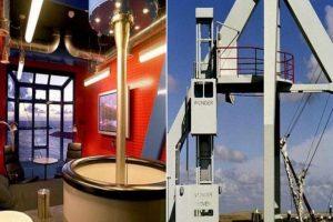 Harlingen Harbour Crane en Holanda. Hotel cuyas habitaciones están sobre grúas. Imagen Por: