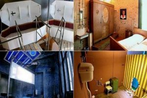 Propeller Island City Lodge en Alemania. Es un auténtico hotel museo creado por el artista Lars Stroschen que cuenta con habitaciones temáticas.. Imagen Por: