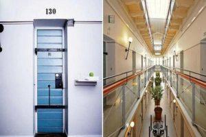 Hotel Langholmen en Suecia, ubicado en una antigua cárcel cerrada en 1975.. Imagen Por: