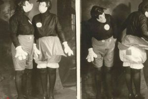 Antes los niños de los años 30 no criaron traumas por estos dos Mickey y Minnie. Véase la foto de la derecha Foto:D23/Buzzfeed.. Imagen Por: