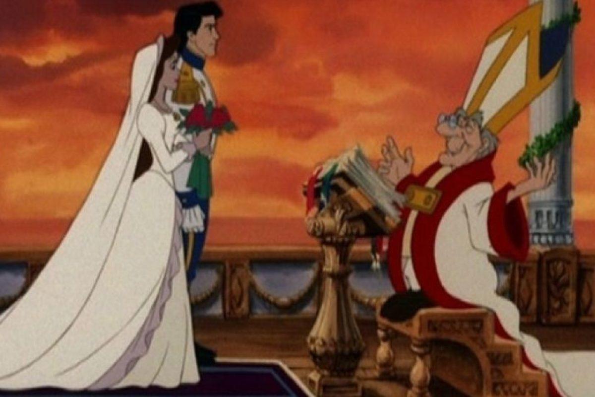 ¿Y qué tal la erección del padrecito en plena boda de Ariel y Eric?.. Imagen Por: