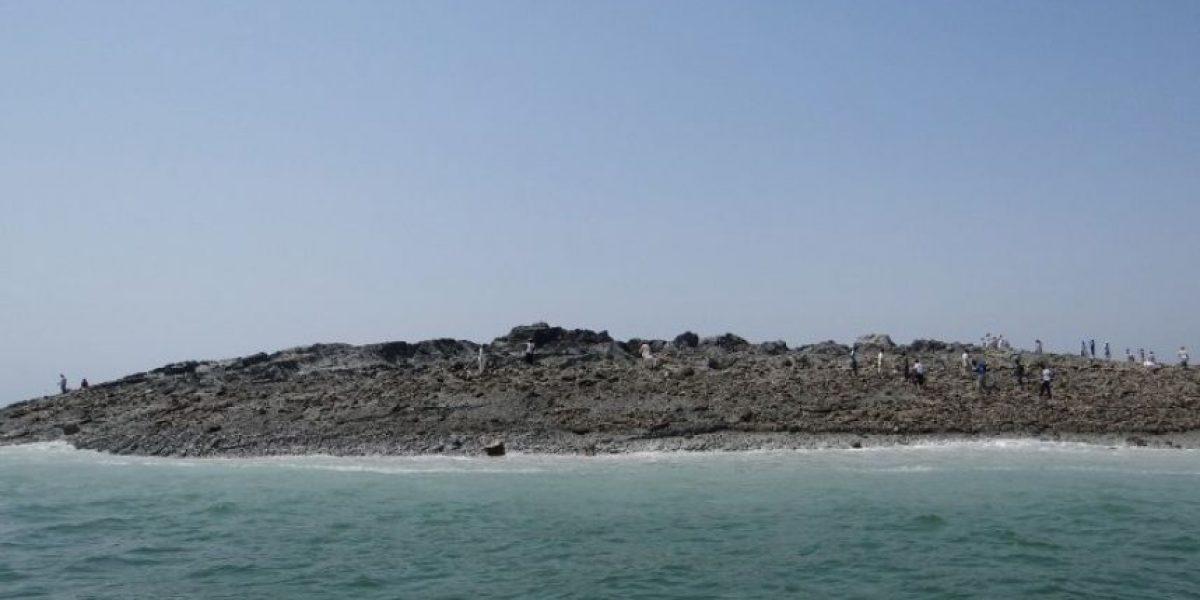 FOTOS: Esta es la isla que nació tras terremoto en Pakistán