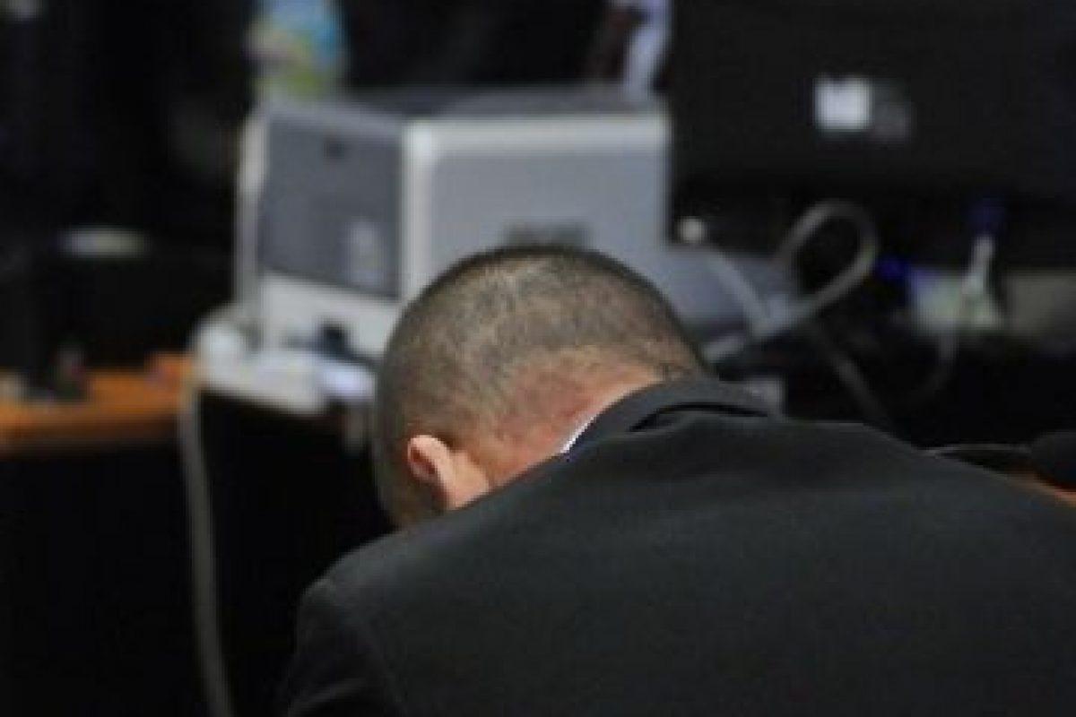 Momento exacto en el que el juez declara inocente a Enrique Orellana. Imagen Por: