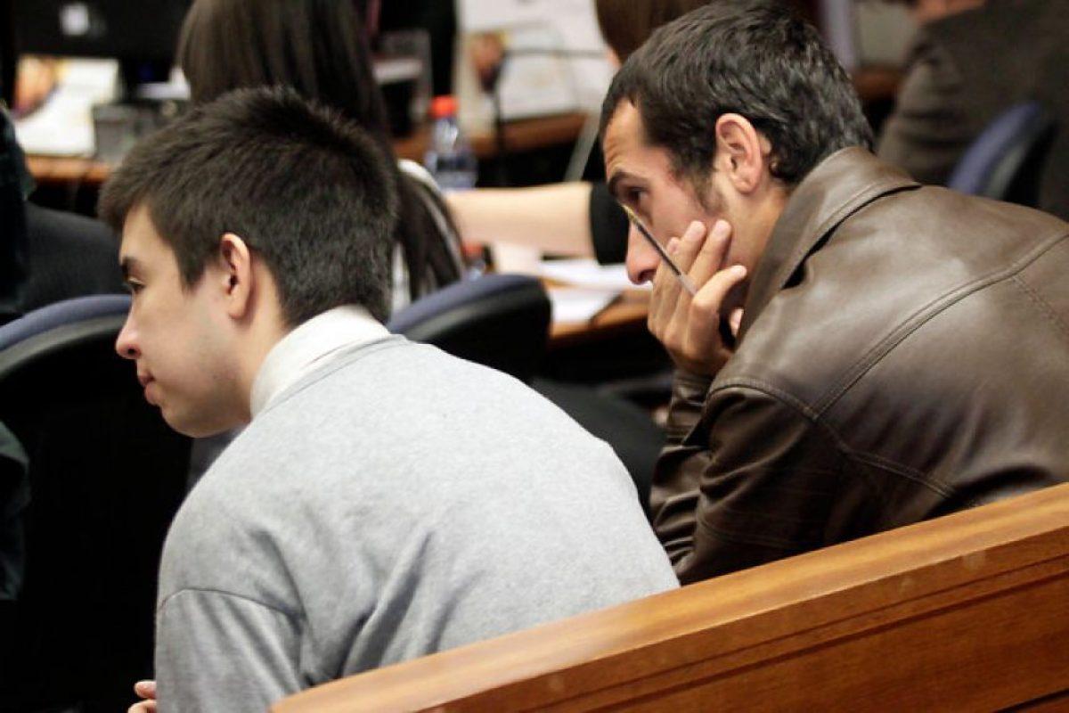 Acusados del crimen de Zamudio durante el tercer día de juici Foto:Agencia UNo. Imagen Por: