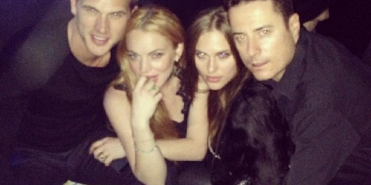 Lindsay Lohan estrena novio cristiano
