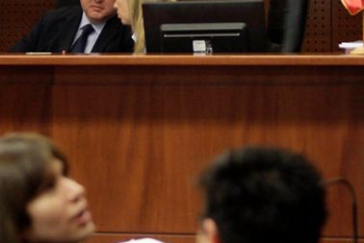Cuarto día del juicio oral en el centro de justicia en contra de los cuatro imputados por la golpiza a Daniel Zamudio. Imagen Por: