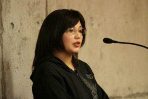 La ex pareja de Alejandro Angulo, Melanie Perroni, declaró como testigo, durante el cuarto día de juicio oral en el centro de justicia en contra de los cuatro imputados por la golpiza a Daniel Zamudio. Imagen Por: