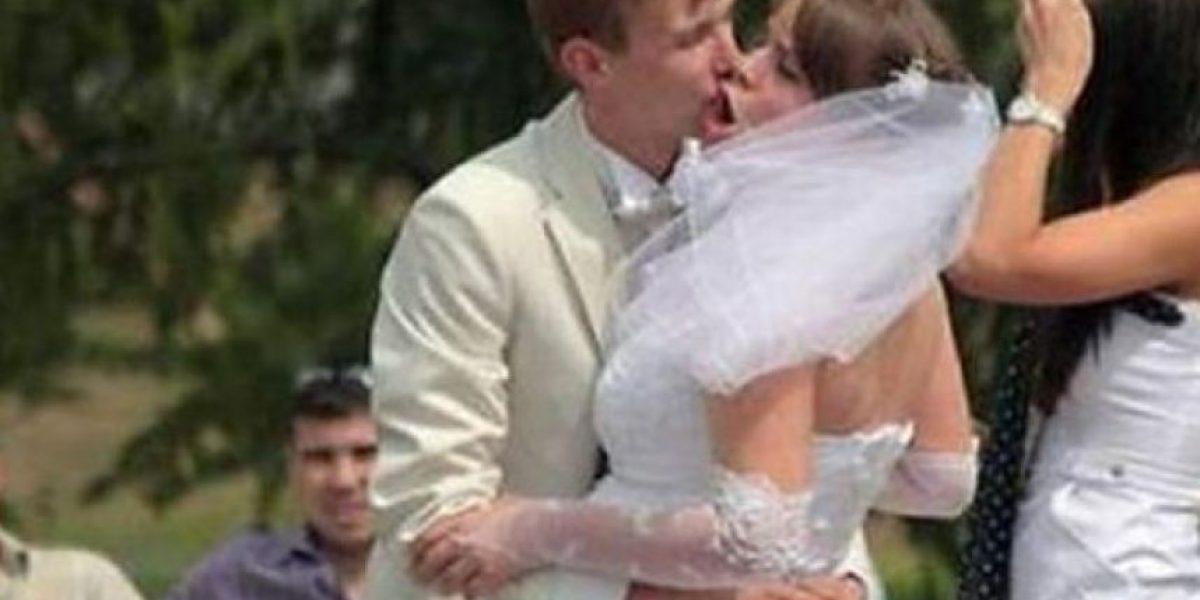 FOTOS: Besos más