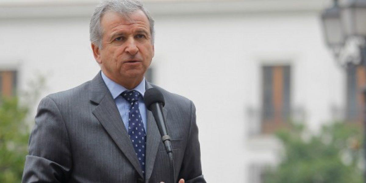 Larraín: proyecto de ley de presupuesto será enviado el lunes al Congreso