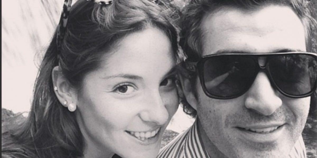 Las romanticas vacaciones de Kel Calderón con Pablo Schilling