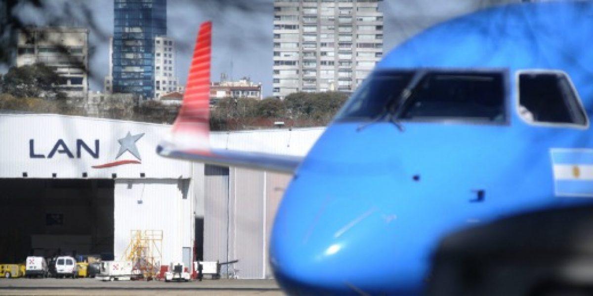 Justicia argentina detiene por seis meses desalojo de LAN en hangar de Aeroparque