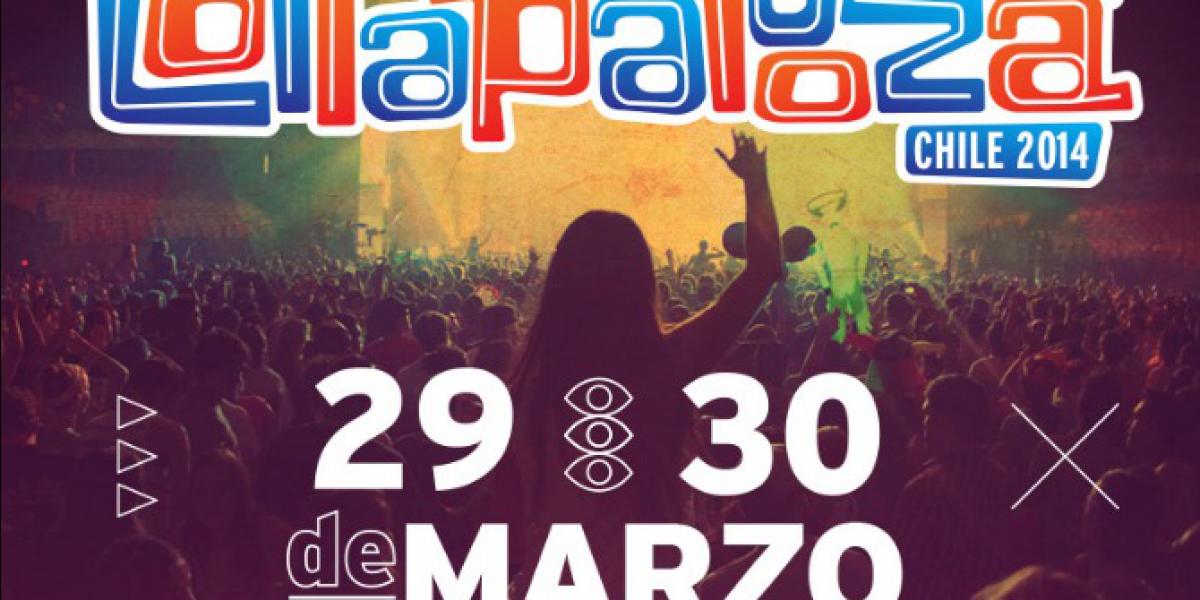 Comienza nueva etapa de venta de tickets para Lollapalooza Chile 2014