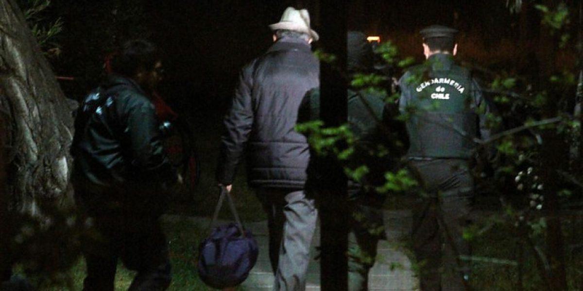 Las primeras imágenes de los internos trasladados a Punta Peuco