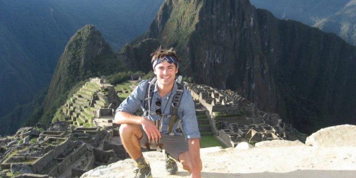 Zac Efron viaja a Machu Picchu y rompe su silencio