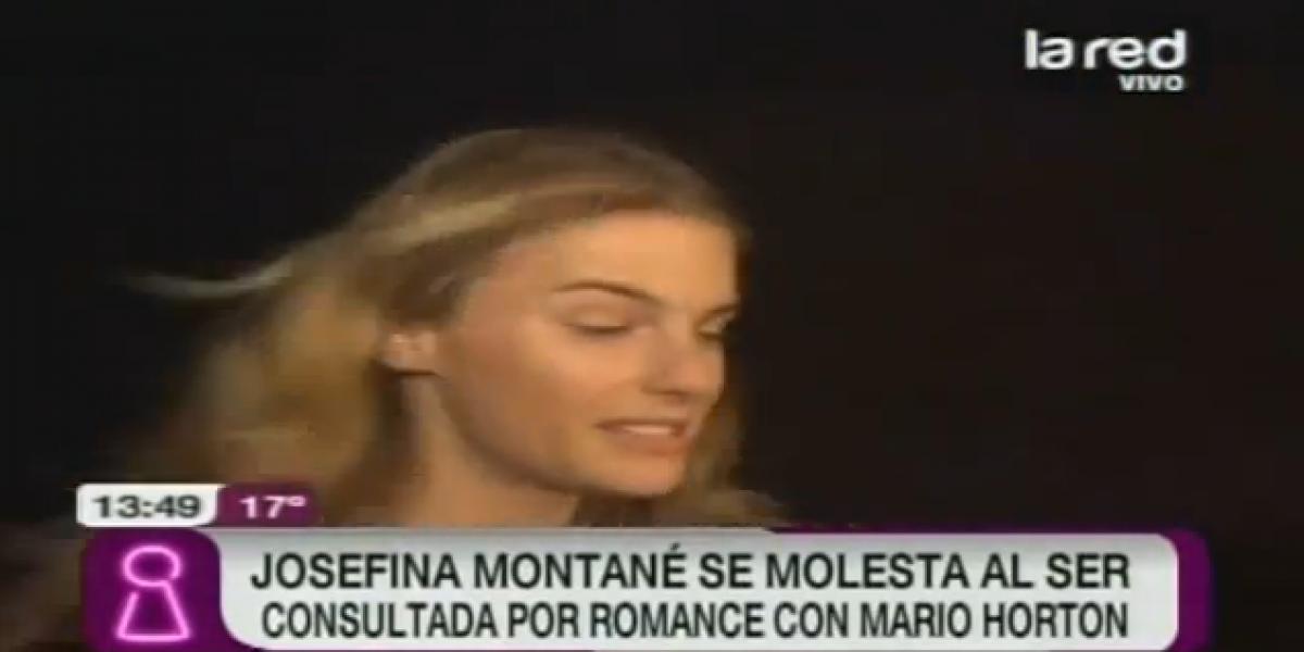 Josefina Montané niega romance con Mario Horton y se molesta