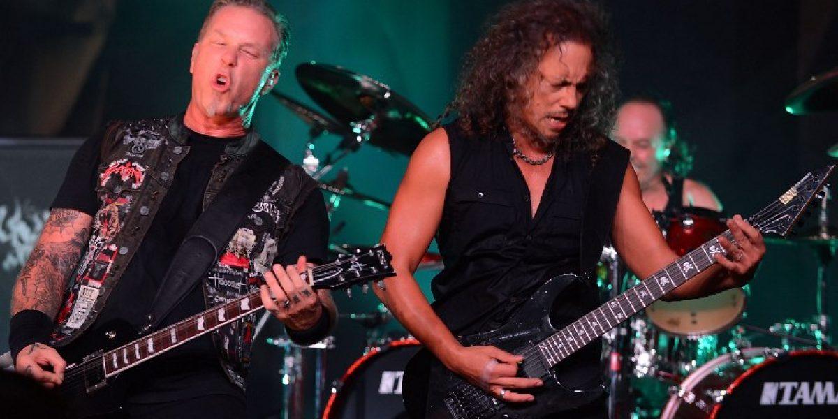 Metallica y su película en 3D: