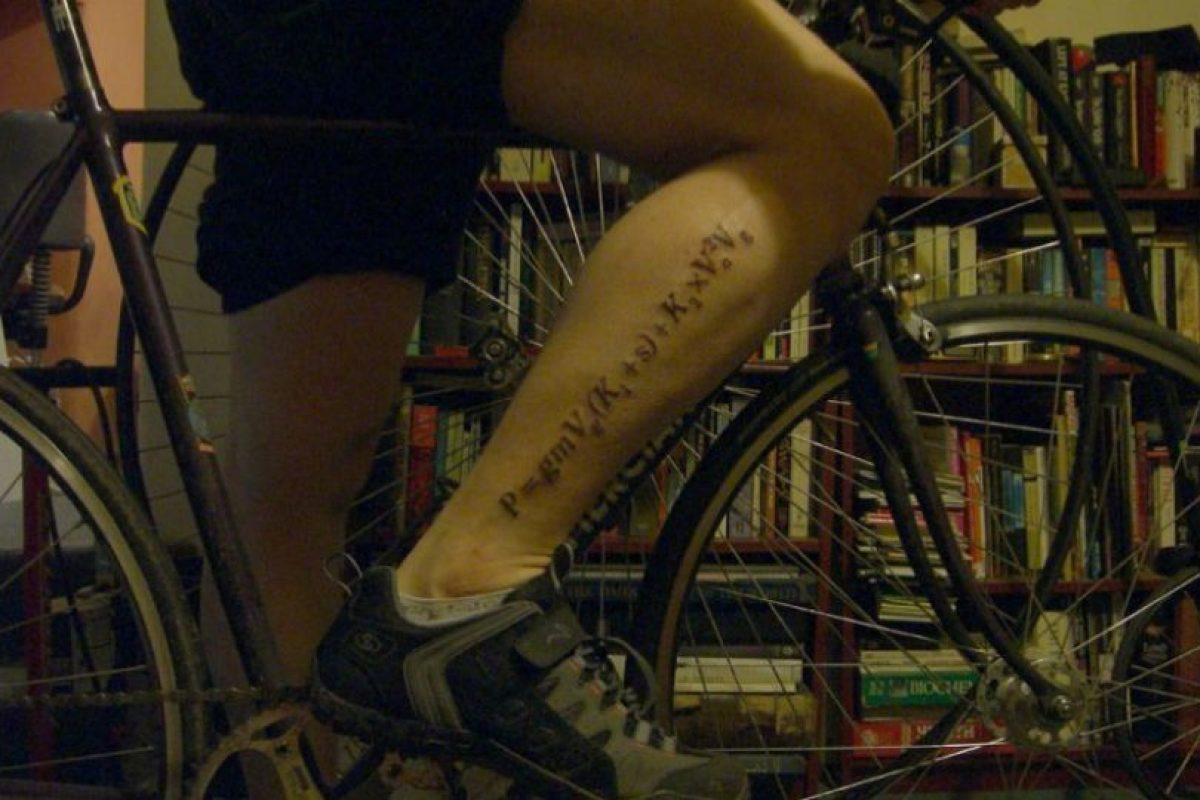Amante de la física y el ciclismo. Imagen Por: