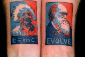 Einstein y Darwin. Imagen Por: