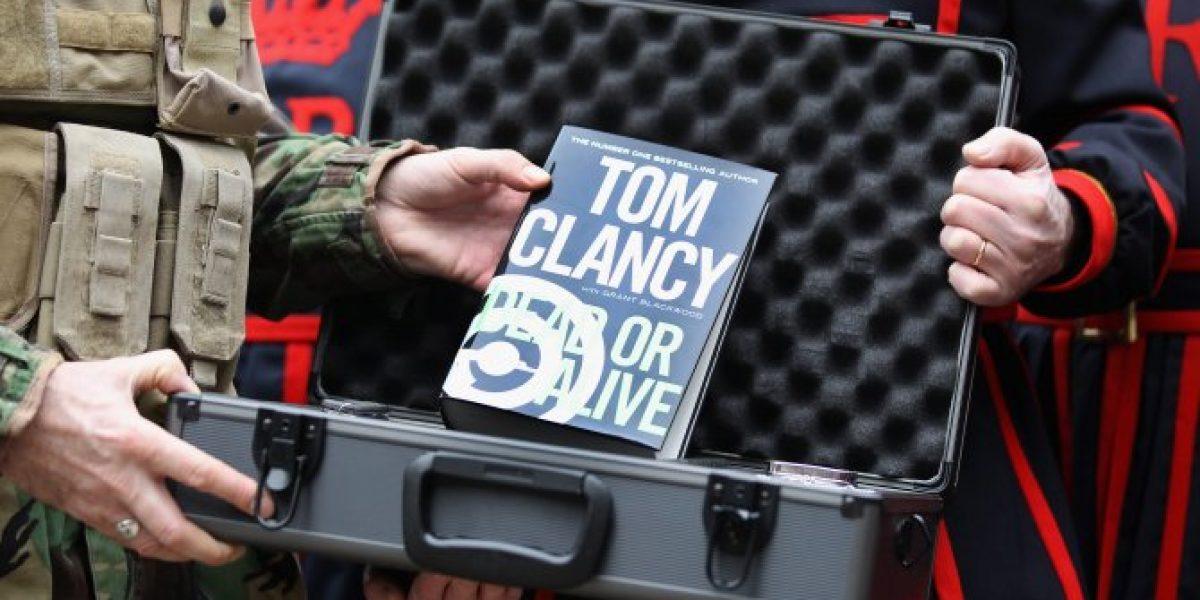 Murió el novelista estadounidense Tom Clancy