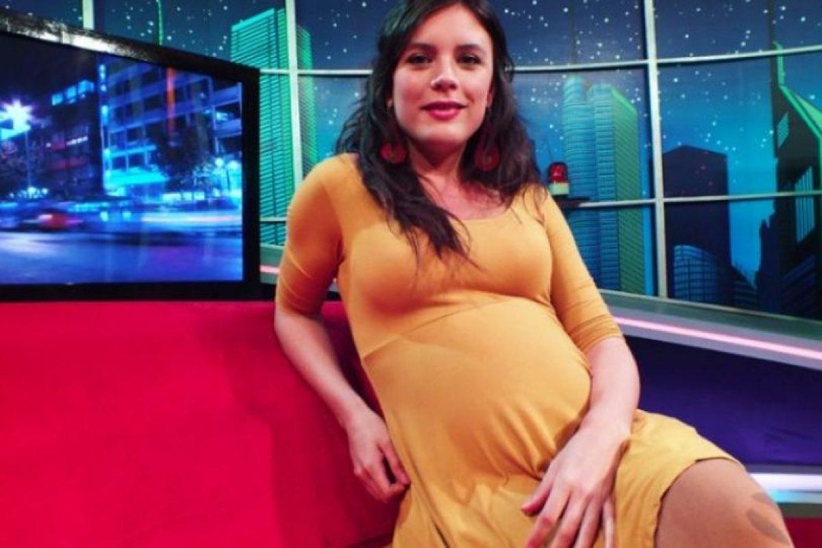 Camila Vallejo habla de su embarazo y espera que el parto sea natura. Imagen Por: