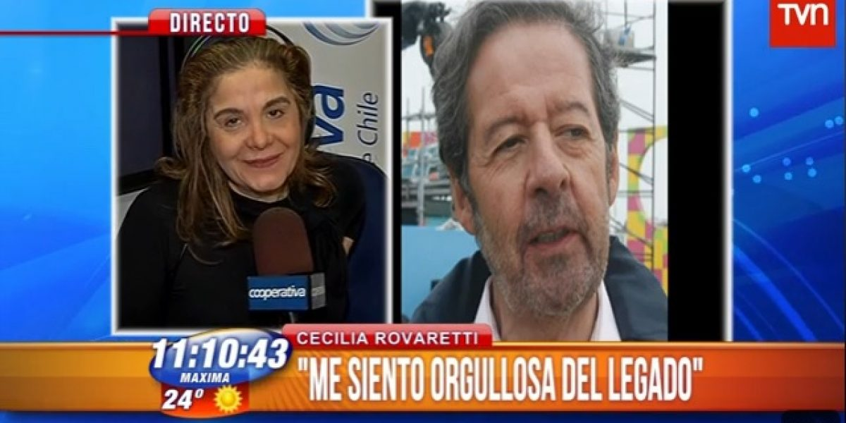 Cecilia Rovaretti hace llamado para ir a beneficio organizado por Ricarte antes de su muerte