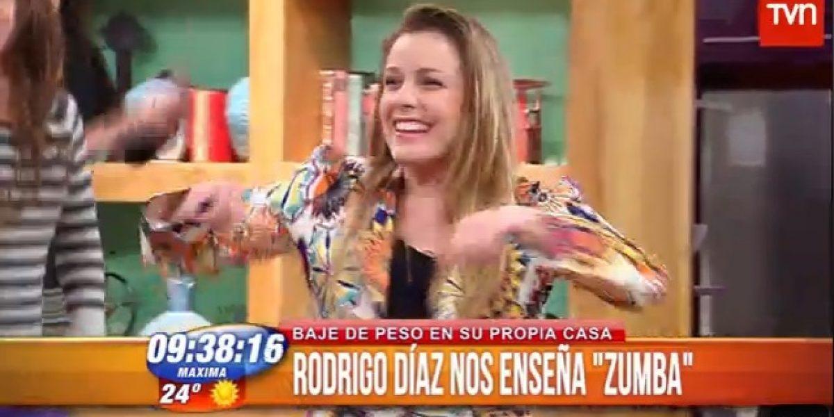 Claudia Conserva se lució bailando zumba en BDAT