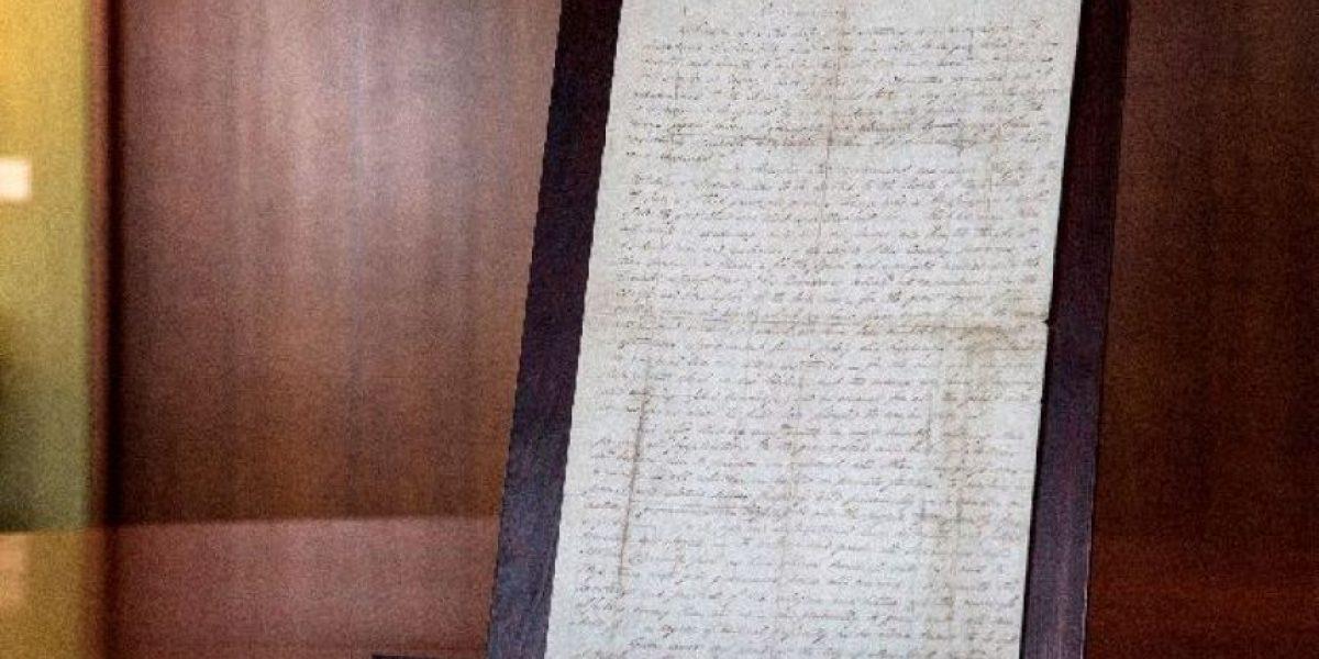 [FOTOS] ¿Por qué este documento podría ser subastado en 12 millones de dólares?