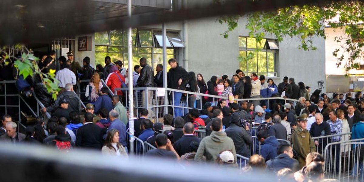 Fotos: Así está el Registro Civil por caída del sistema