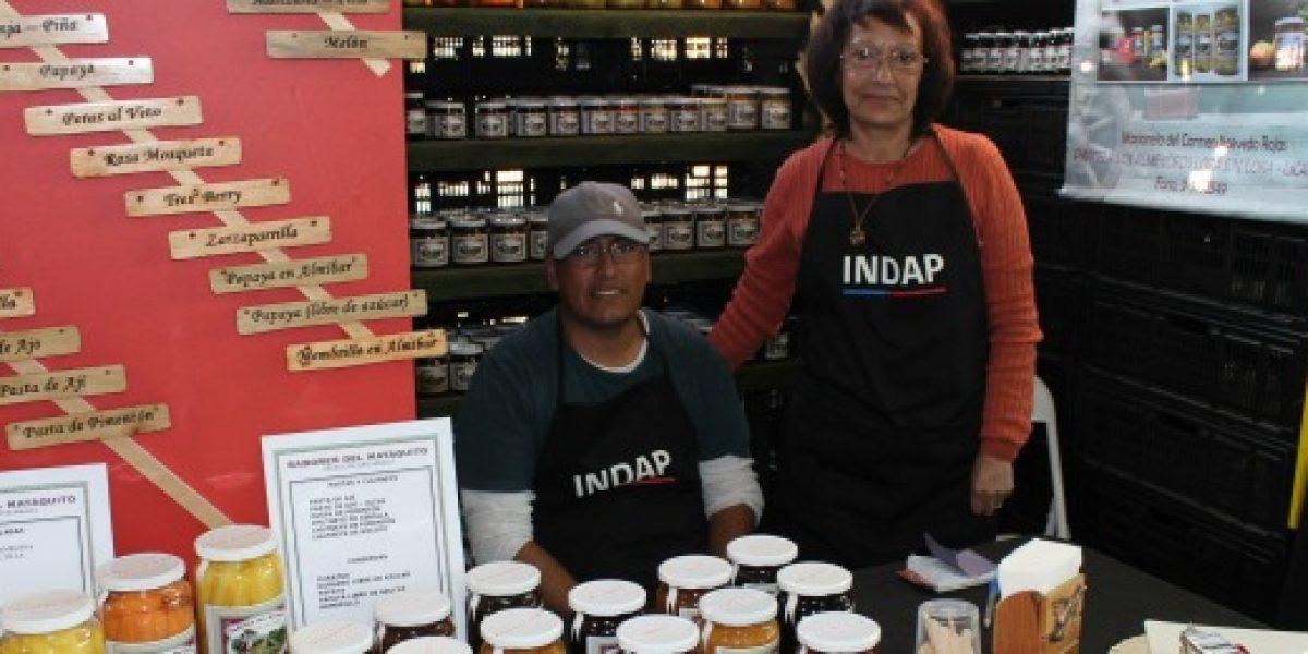 Emprendedores de Indap participan en feria gastronómica Echinuco