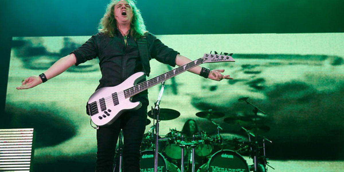 Megadeth encendió el Monumental a la espera de Black Sabbath