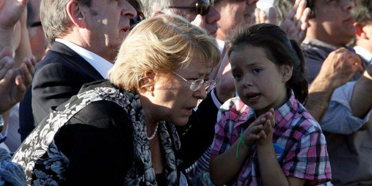 [FOTOS] Bachelet acaparó la atención de todos en acto por 25 años del