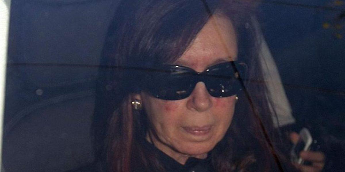 [FOTOS] Captan a la presidenta Cristina Fernández a un día de su operación