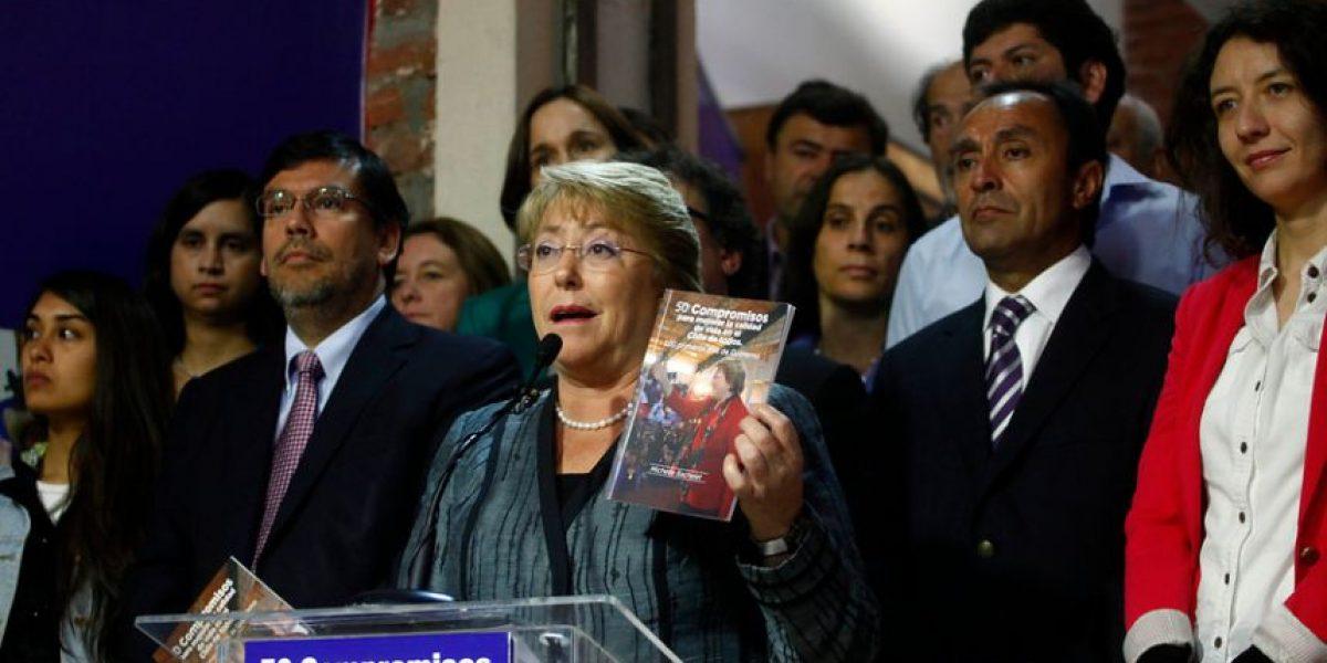 [Fotos] Bachelet presentó 50 medidas para sus primeros 100 días de gobierno