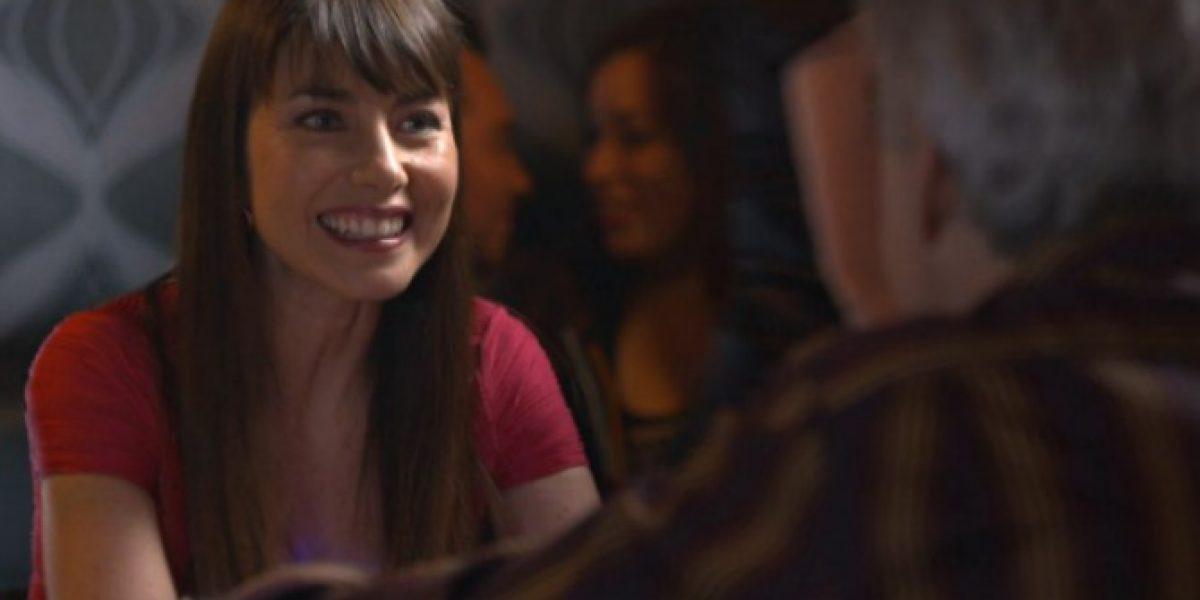 Mónica Godoy debutó en Canal 13 como una eterna enamorada en