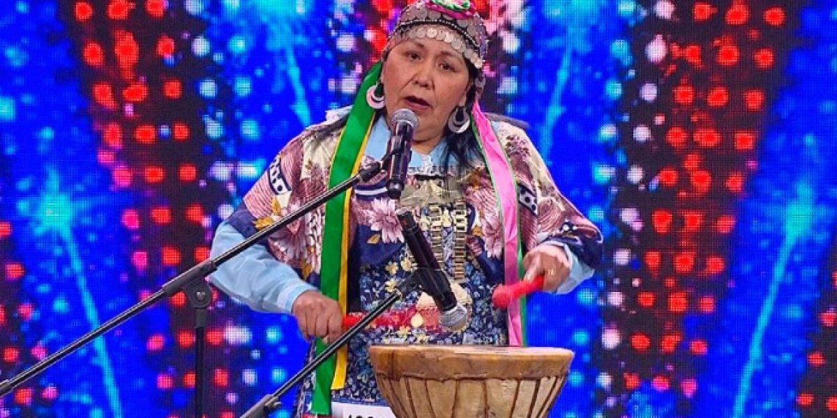 Concursante mapuche sorprende a jurado de