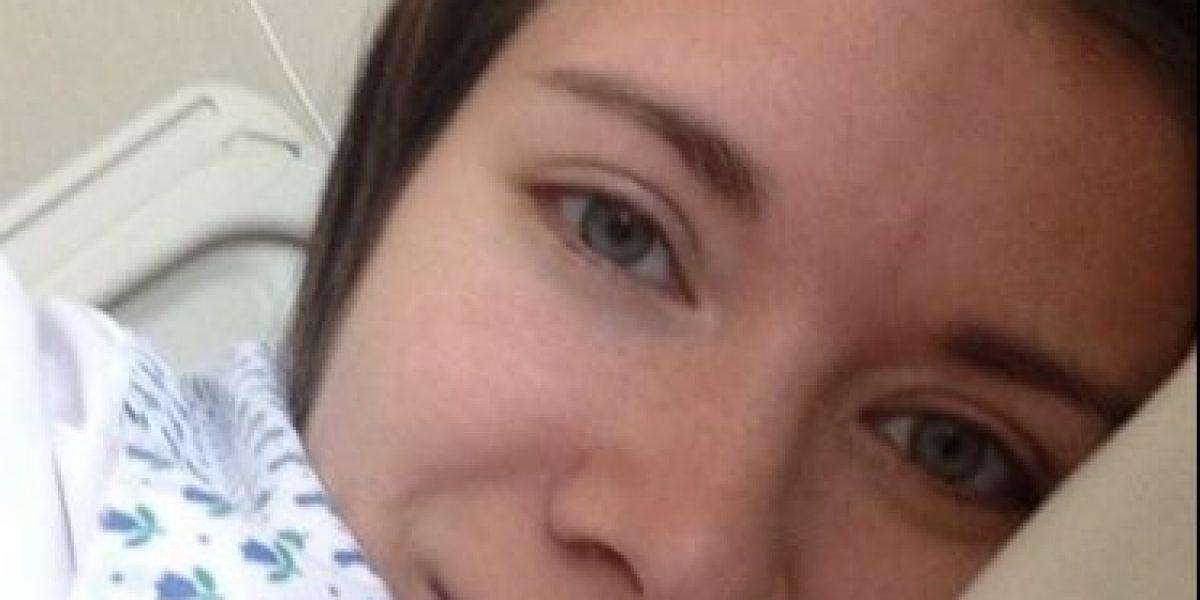 Carla Jara es dada de alta tras complicaciones en su embarazo