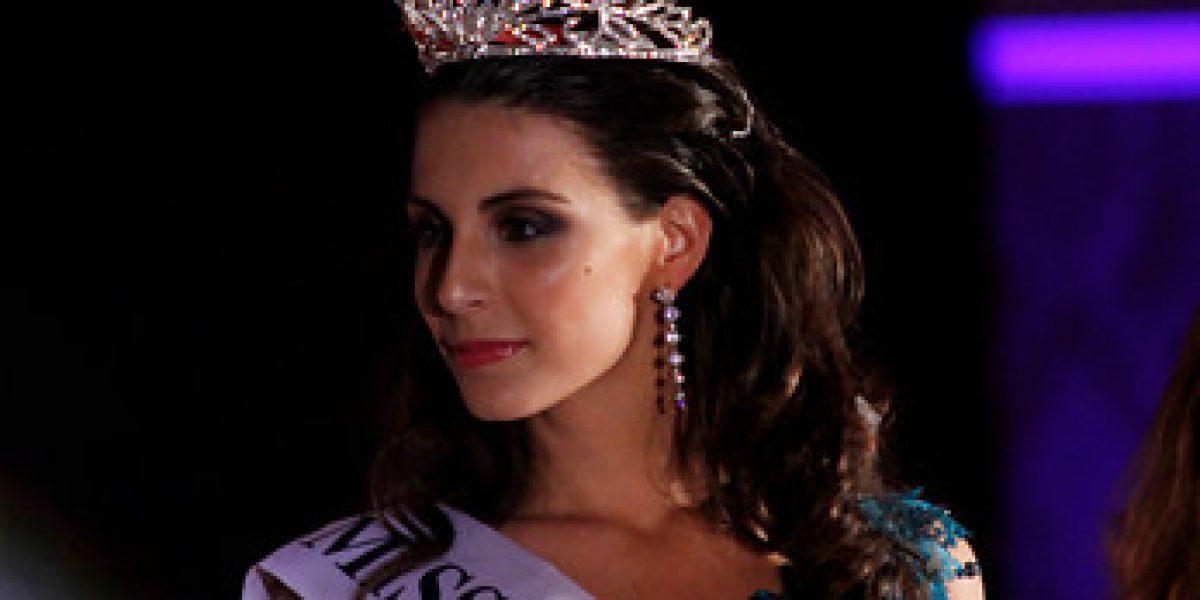 Sobrina de Evelyn Matthei es la nueva Miss Chile