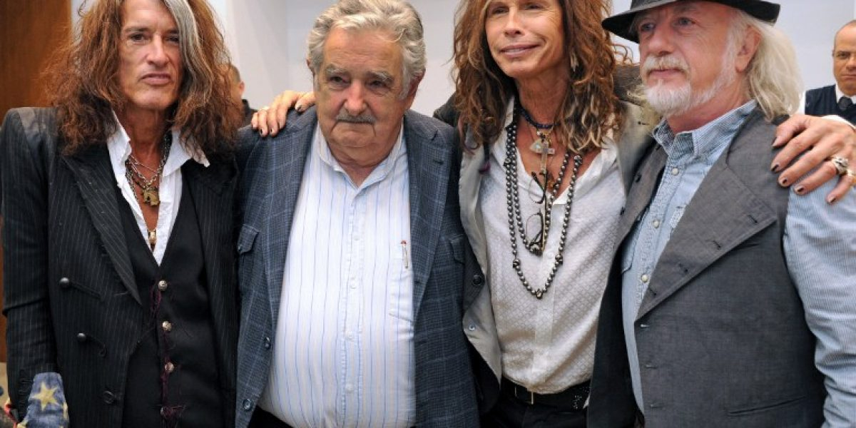 Aerosmith visita a